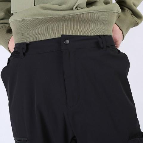 мужские черные  брюки carhartt wip hayes pant I027598-black - цена, описание, фото 5