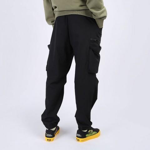 мужские черные  брюки carhartt wip hayes pant I027598-black - цена, описание, фото 6
