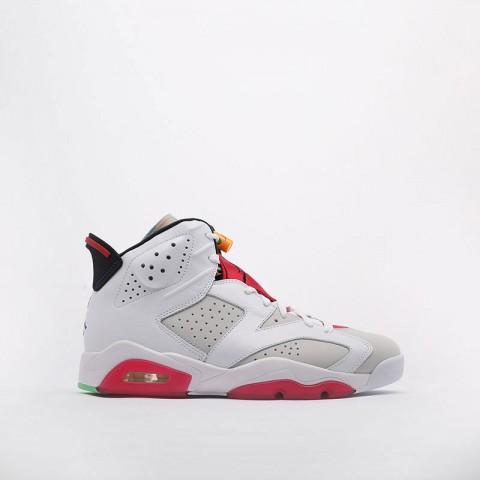мужские белые  кроссовки jordan retro 6 CT8529-062 - цена, описание, фото 1