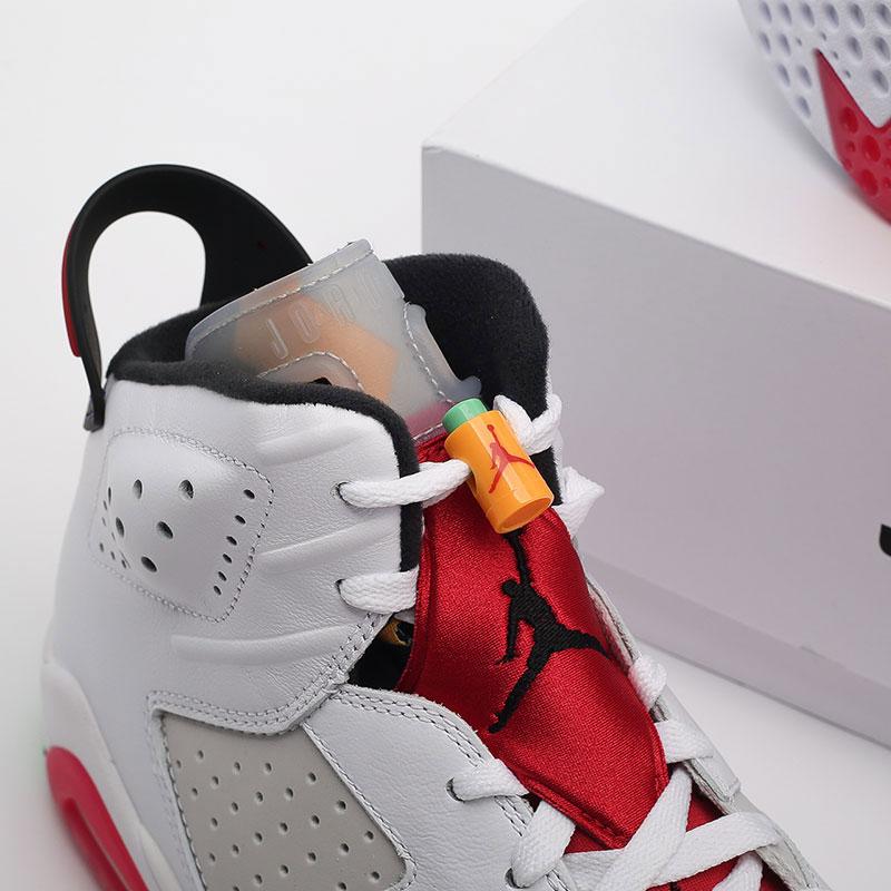 мужские белые  кроссовки jordan retro 6 CT8529-062 - цена, описание, фото 10
