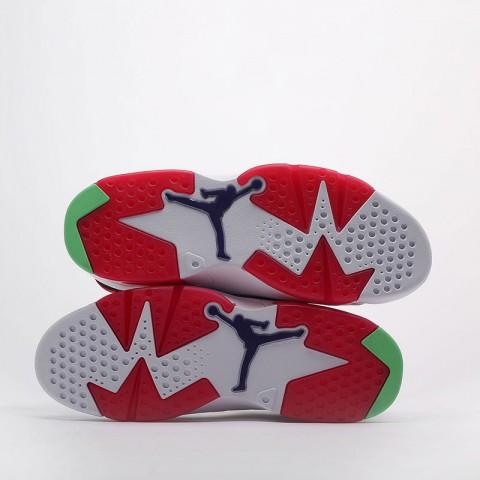 мужские белые  кроссовки jordan retro 6 CT8529-062 - цена, описание, фото 4
