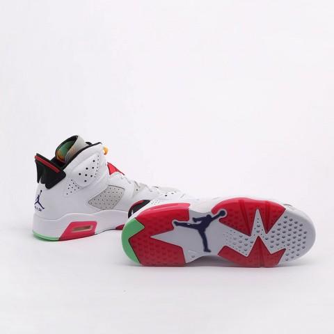 мужские белые  кроссовки jordan retro 6 CT8529-062 - цена, описание, фото 5