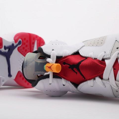 мужские белые  кроссовки jordan retro 6 CT8529-062 - цена, описание, фото 6