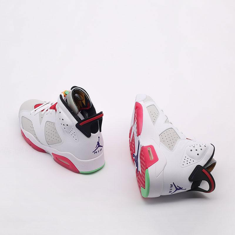 мужские белые  кроссовки jordan retro 6 CT8529-062 - цена, описание, фото 8