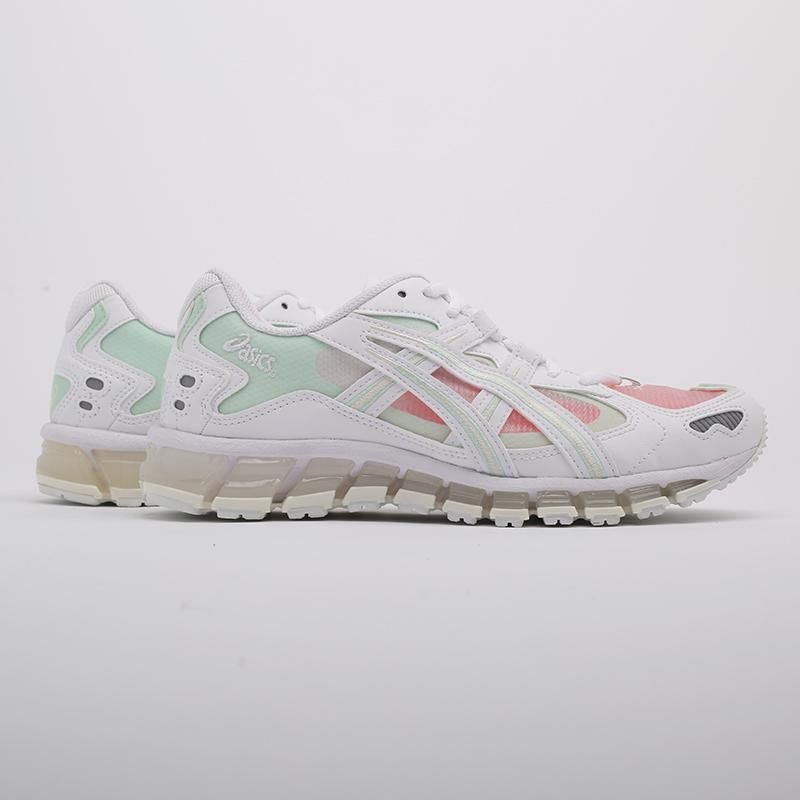 женские белые  кроссовки asics gel-kayano 5 360 1022A173-100 - цена, описание, фото 2
