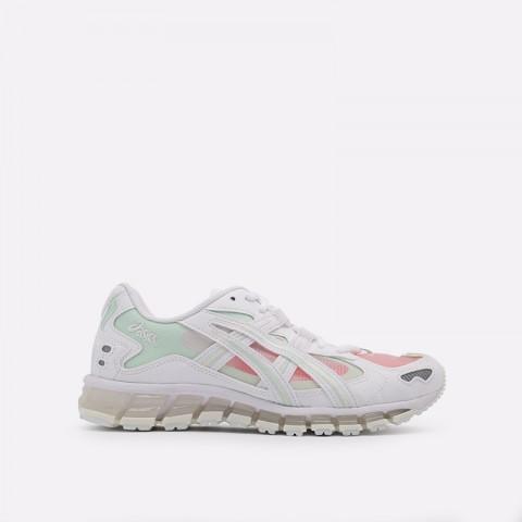 женские белые  кроссовки asics gel-kayano 5 360 1022A173-100 - цена, описание, фото 1