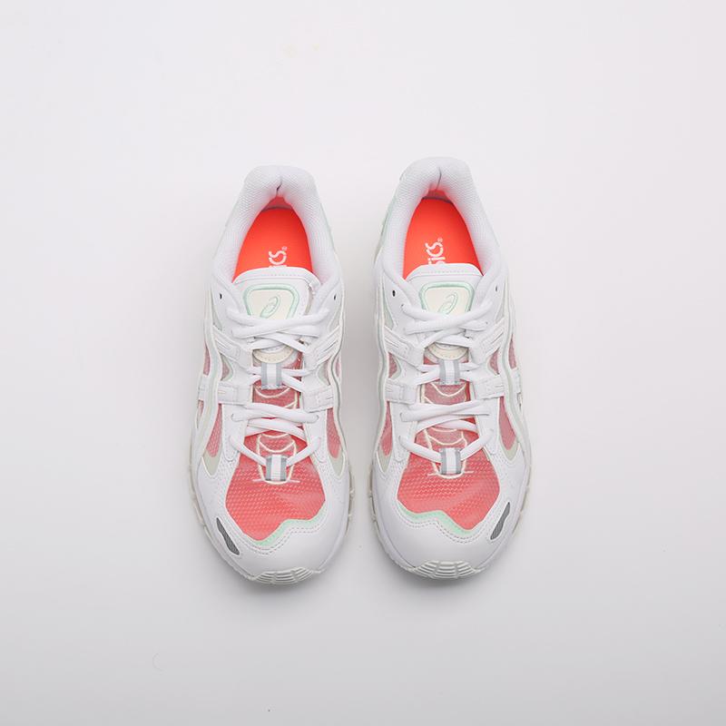женские белые  кроссовки asics gel-kayano 5 360 1022A173-100 - цена, описание, фото 3