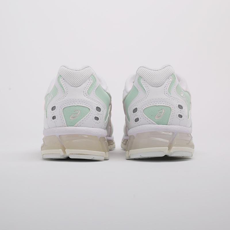 женские белые  кроссовки asics gel-kayano 5 360 1022A173-100 - цена, описание, фото 4