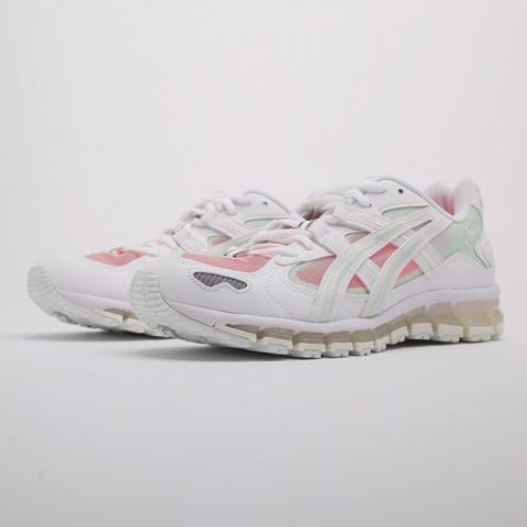 женские белые  кроссовки asics gel-kayano 5 360 1022A173-100 - цена, описание, фото 5