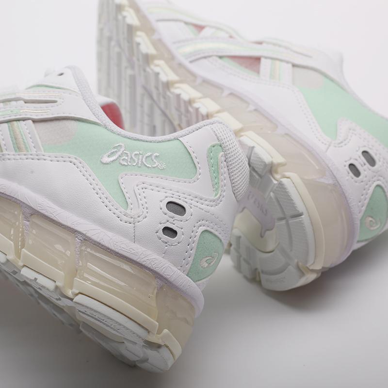 женские белые  кроссовки asics gel-kayano 5 360 1022A173-100 - цена, описание, фото 7