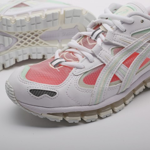 женские белые  кроссовки asics gel-kayano 5 360 1022A173-100 - цена, описание, фото 8