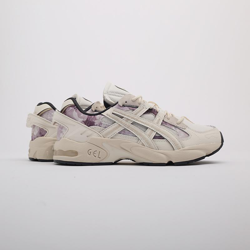 мужские бежевые  кроссовки asics gel-kayano 5 re 1021A411-200 - цена, описание, фото 2