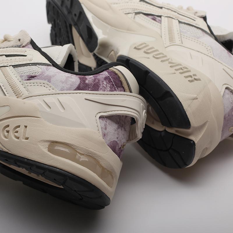 мужские бежевые  кроссовки asics gel-kayano 5 re 1021A411-200 - цена, описание, фото 7