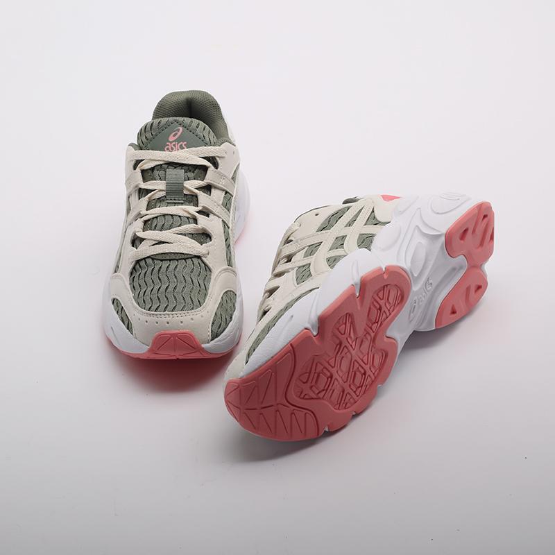 женские зелёные  кроссовки asics gel-bnd 1022A186-300 - цена, описание, фото 7