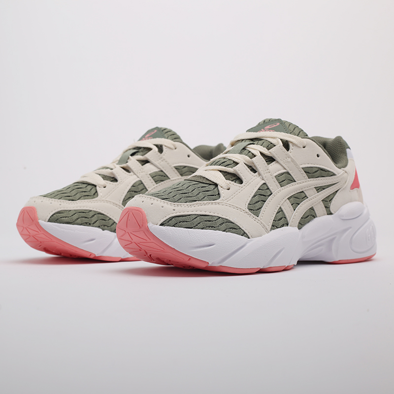 женские зелёные  кроссовки asics gel-bnd 1022A186-300 - цена, описание, фото 4