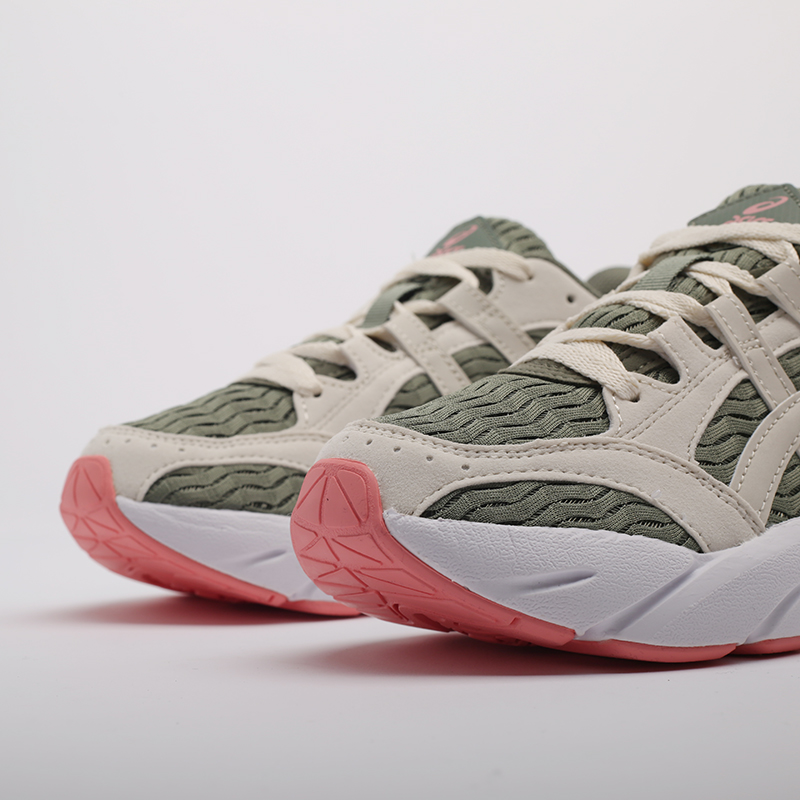 женские зелёные  кроссовки asics gel-bnd 1022A186-300 - цена, описание, фото 5