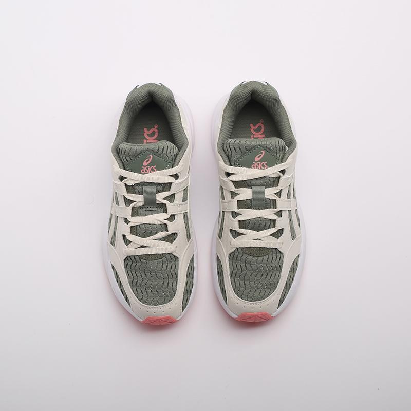 женские зелёные  кроссовки asics gel-bnd 1022A186-300 - цена, описание, фото 6