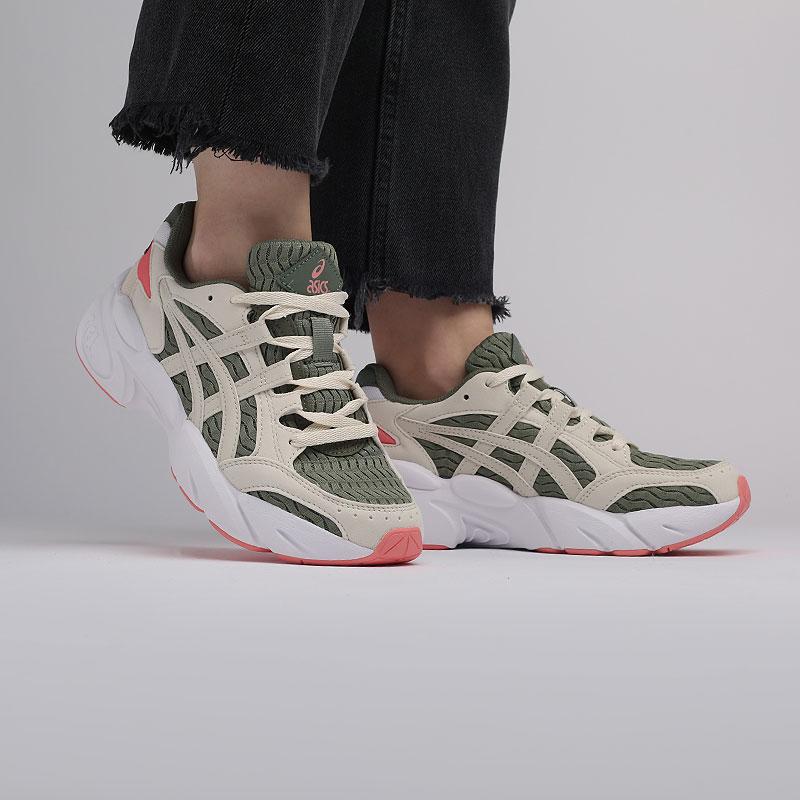 женские зелёные  кроссовки asics gel-bnd 1022A186-300 - цена, описание, фото 8
