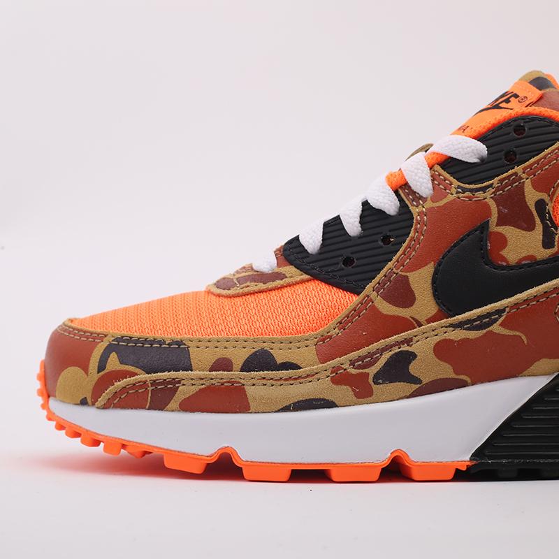 оранжевые  кроссовки nike air max 90 sp CW4039-800 - цена, описание, фото 8