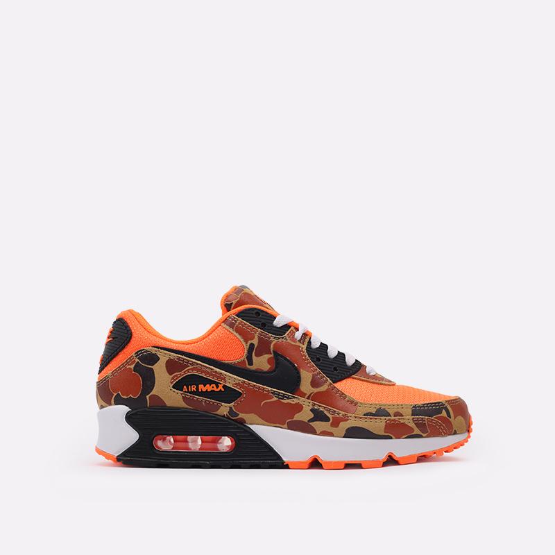 оранжевые  кроссовки nike air max 90 sp CW4039-800 - цена, описание, фото 1