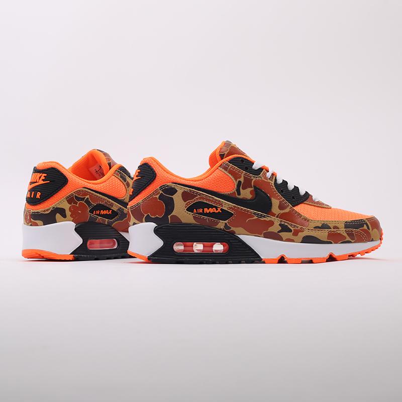 оранжевые  кроссовки nike air max 90 sp CW4039-800 - цена, описание, фото 3