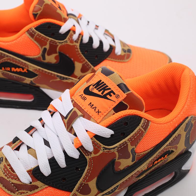 оранжевые  кроссовки nike air max 90 sp CW4039-800 - цена, описание, фото 7