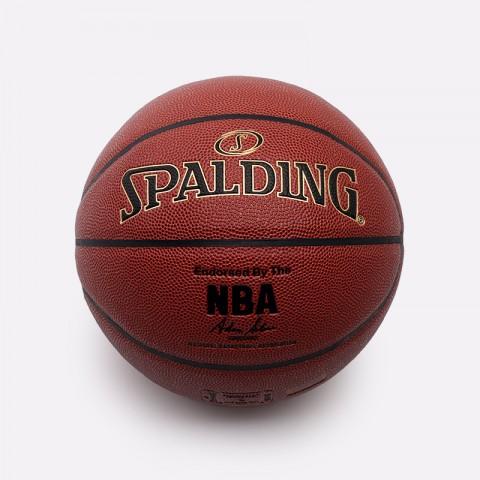 коричневый  мяч №7 spalding nba gold series 76-014 - цена, описание, фото 2