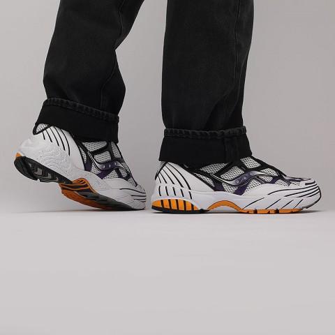 мужские белые  кроссовки saucony grid web S704665 - цена, описание, фото 9