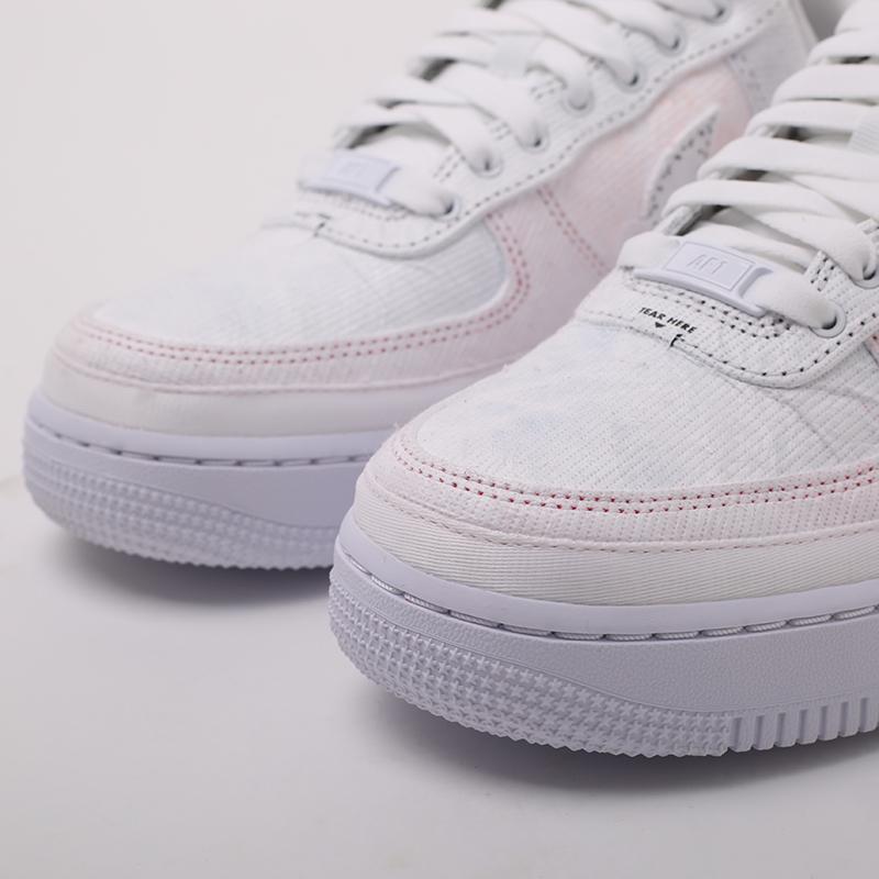 женские разноцветные  кроссовки nike wmns air force 1 '07 lx CJ1650-100 - цена, описание, фото 5