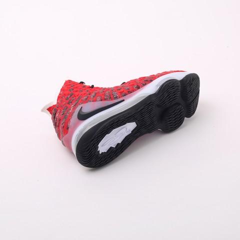 красные  кроссовки nike lebron xvii BQ3177-601 - цена, описание, фото 2