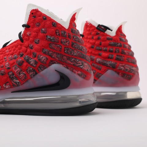 красные  кроссовки nike lebron xvii BQ3177-601 - цена, описание, фото 6