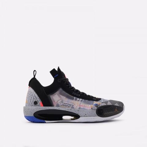 мужские чёрные  кроссовки jordan xxxiv low ep CZ7745-008 - цена, описание, фото 1