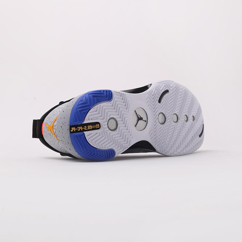 мужские чёрные  кроссовки jordan xxxiv low ep CZ7745-008 - цена, описание, фото 2