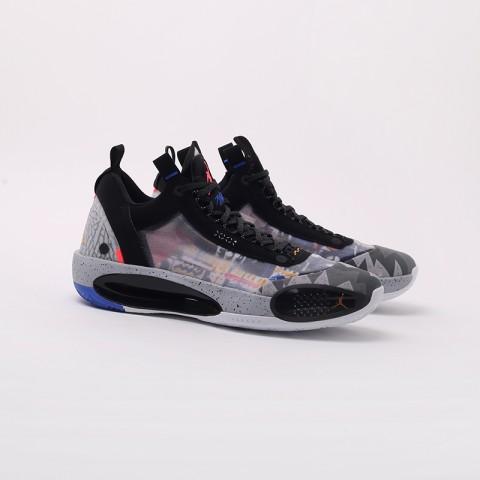 мужские чёрные  кроссовки jordan xxxiv low ep CZ7745-008 - цена, описание, фото 3