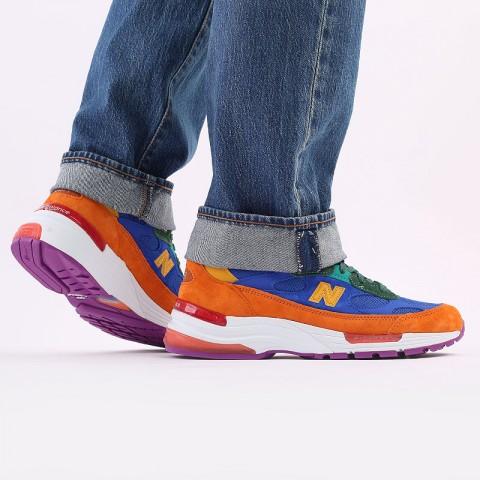 мужские разноцветные  кроссовки new balance 992 M992MC/D - цена, описание, фото 8