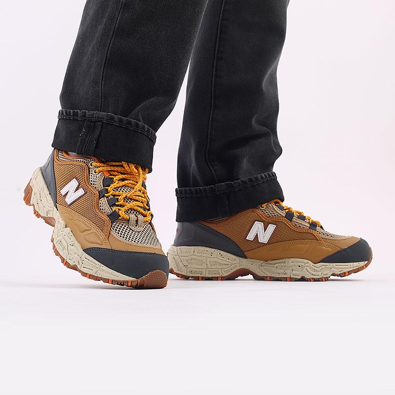 мужские коричневые  кроссовки new balance 801 ML801NEC/D - цена, описание, фото 7