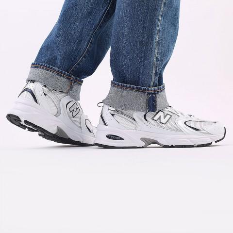 мужские белые  кроссовки new balance 530 MR530SG/D - цена, описание, фото 7