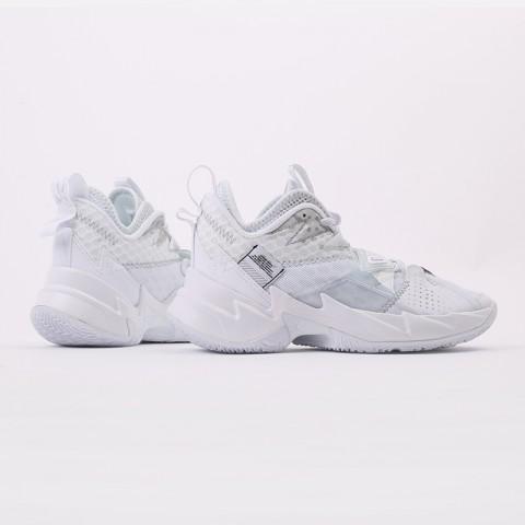 женские белые  кроссовки jordan why not zero.3 (gs) CD5804-103 - цена, описание, фото 2