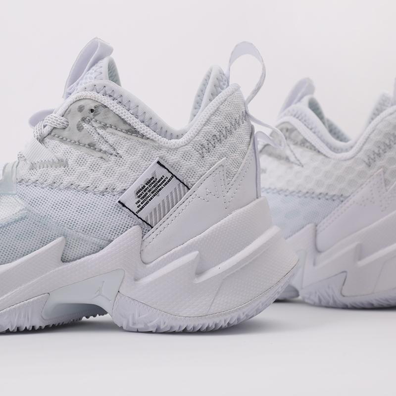 женские белые  кроссовки jordan why not zero.3 (gs) CD5804-103 - цена, описание, фото 6