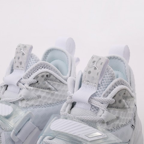 женские белые  кроссовки jordan why not zero.3 (gs) CD5804-103 - цена, описание, фото 7