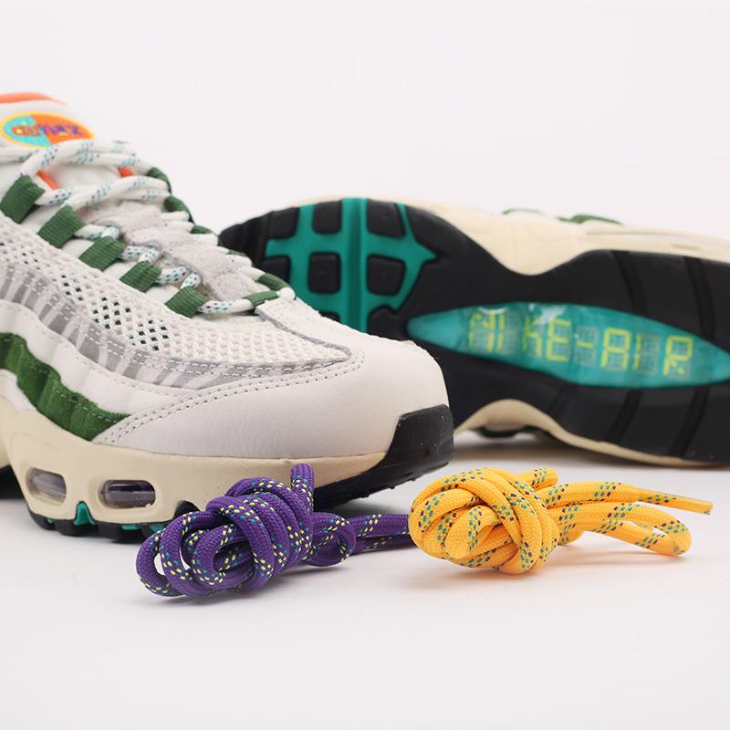 мужские бежевые, зелёные  кроссовки nike air max 95 era CZ9723-100 - цена, описание, фото 7