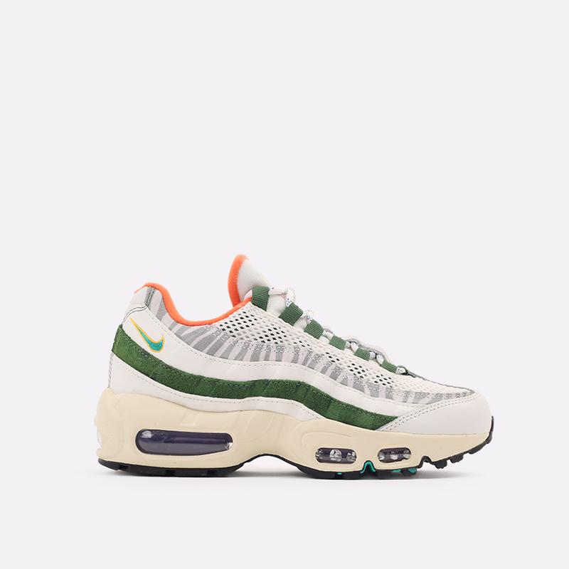 мужские бежевые, зелёные  кроссовки nike air max 95 era CZ9723-100 - цена, описание, фото 1
