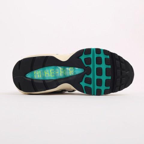 мужские бежевые, зелёные  кроссовки nike air max 95 era CZ9723-100 - цена, описание, фото 3