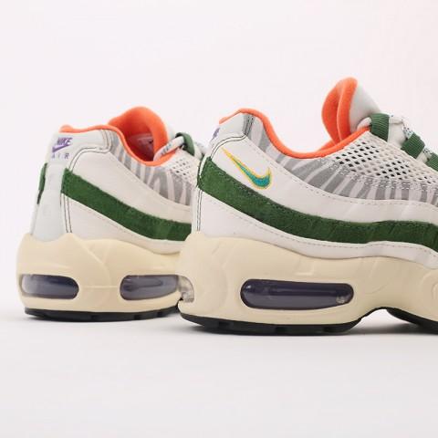 мужские бежевые, зелёные  кроссовки nike air max 95 era CZ9723-100 - цена, описание, фото 8