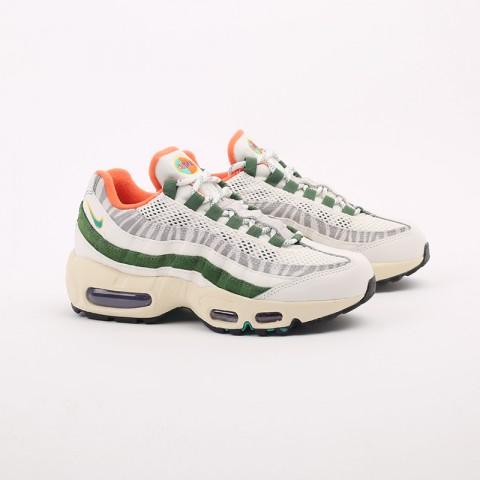 мужские бежевые, зелёные  кроссовки nike air max 95 era CZ9723-100 - цена, описание, фото 2