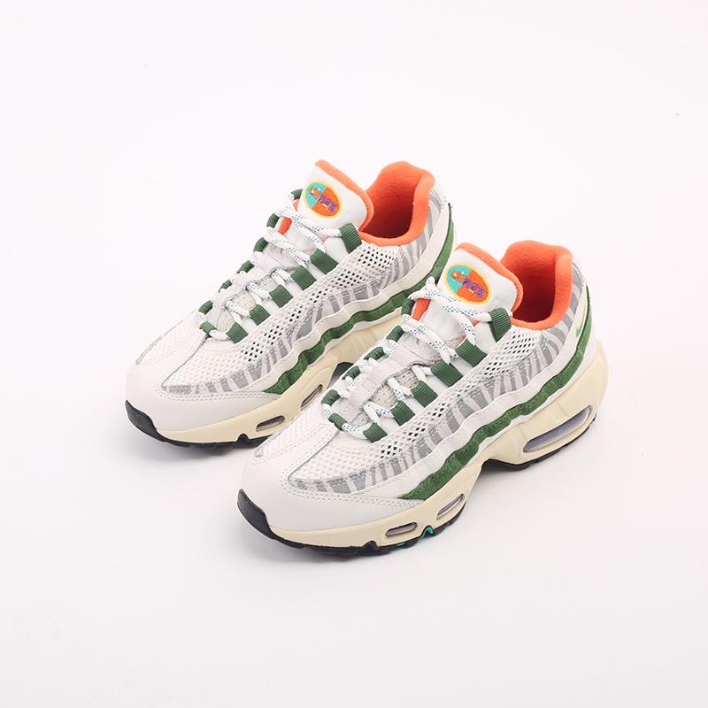 мужские бежевые, зелёные  кроссовки nike air max 95 era CZ9723-100 - цена, описание, фото 4