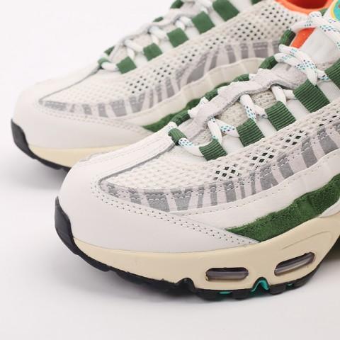 мужские бежевые, зелёные  кроссовки nike air max 95 era CZ9723-100 - цена, описание, фото 6