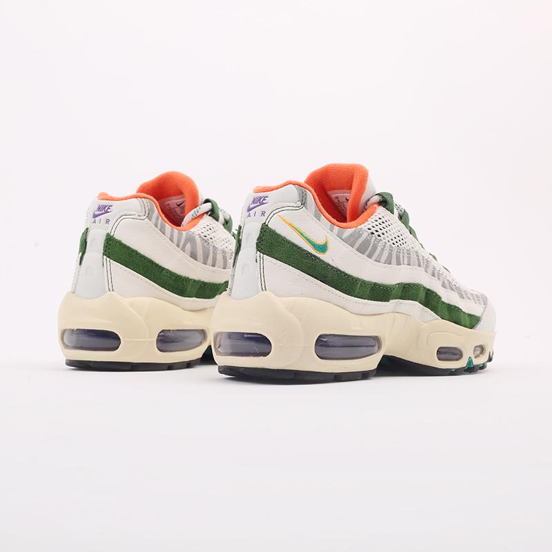мужские бежевые, зелёные  кроссовки nike air max 95 era CZ9723-100 - цена, описание, фото 5