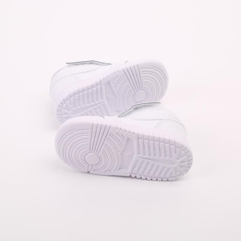 детские белые  кроссовки jordan 1 low alt (td) CI3436-130 - цена, описание, фото 3