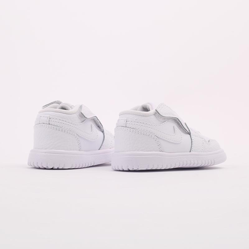 детские белые  кроссовки jordan 1 low alt (td) CI3436-130 - цена, описание, фото 4